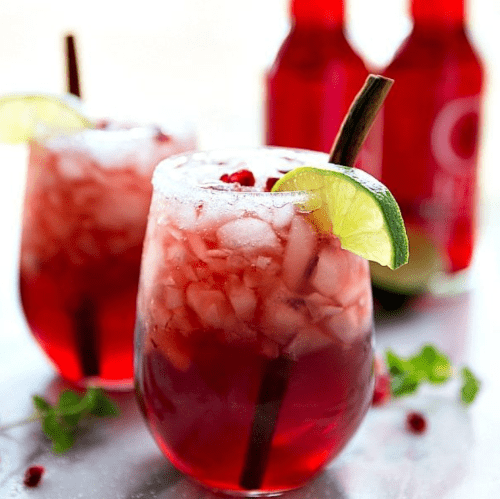 """Featured image for """"Sparkling Cranberry Pomegranate"""""""