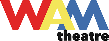 Where arts and activism meet - Wam Theater logo